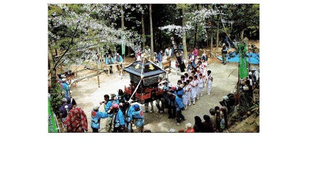 上毛町「松尾山のお田植祭」 4月20日(日)