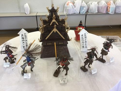 「真田丸」鉄の人形アート展無事千秋楽