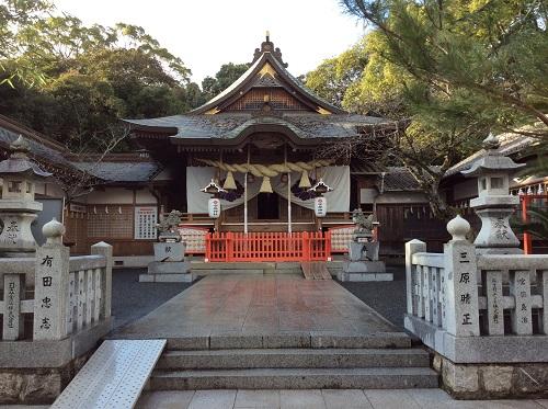 初詣の準備万端!苅田町宇原神社