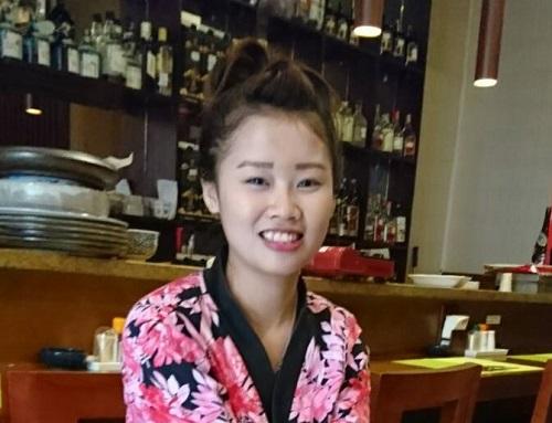 夢は日本食のレストランを経営することです★