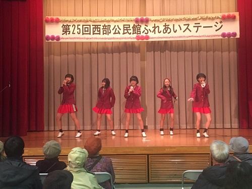 京築アイドル「キューティーベリー」もステージ披露
