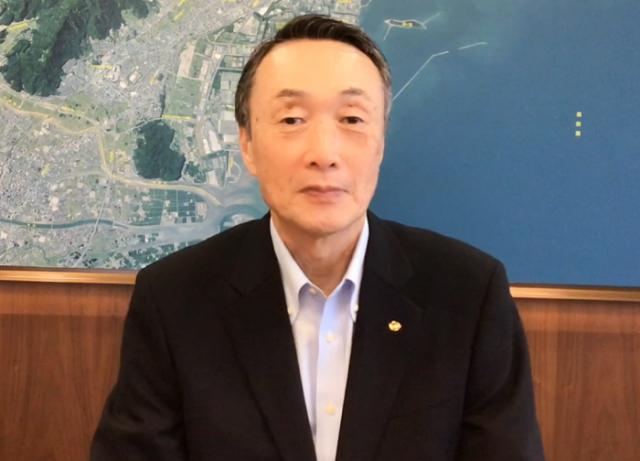 苅田町遠田町長「がんばろうや京築!」動画メッセージ