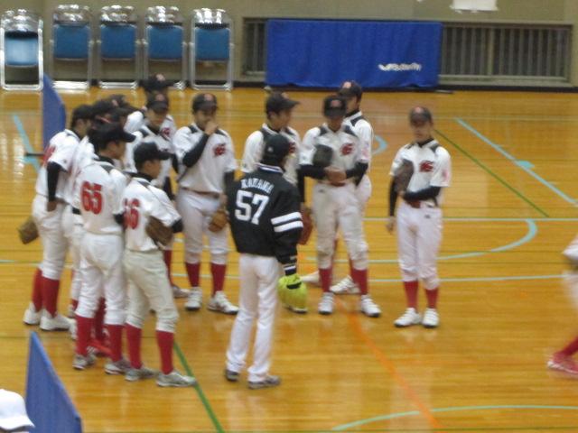 苅田町初の野球教室開催!2