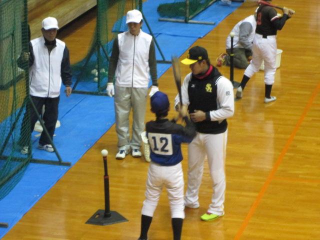 苅田町初の野球教室3