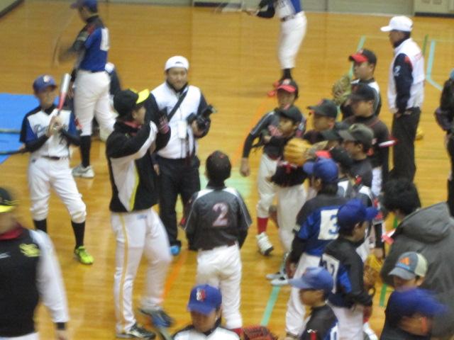 苅田町初の野球教室5